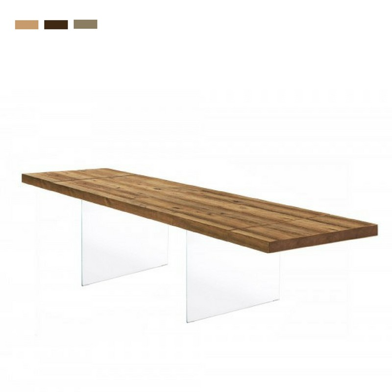 Air Wildwood - Table with wooden top ...
