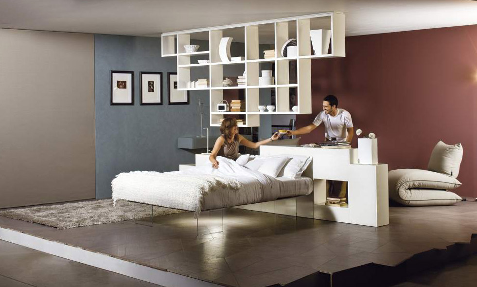 Notizie Lago AIR Suspended Bed Ready To Ship - Lago bed