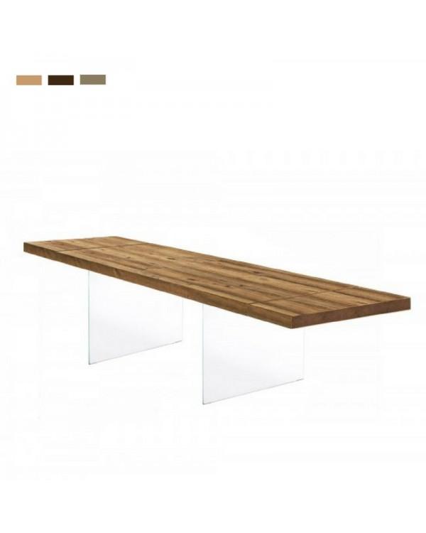 Air di lago tavolo in legno prezzi sconti for Tavolo lago