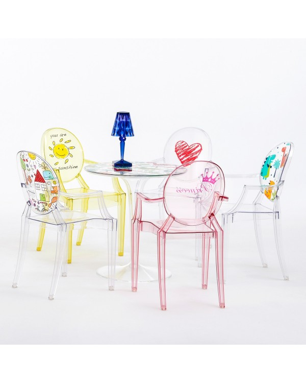 ... Lou Lou Ghost   Polycarbonate Baby Chair ...
