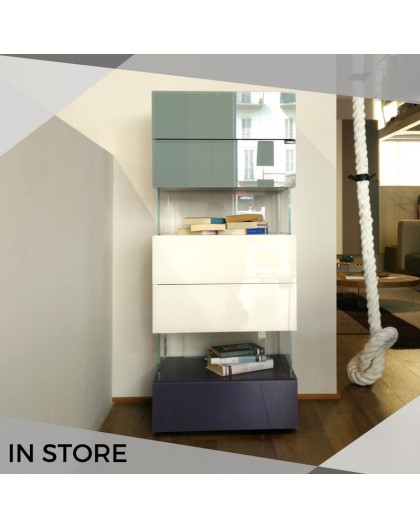 air drawer unit with 5 drawers