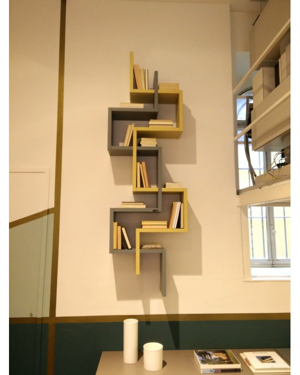 Lagolinea libreria a muro mav arreda for Mav arreda milano